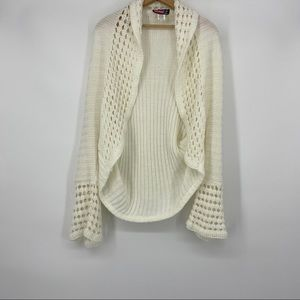 Say What? Cream Cardigan One Size